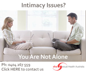 Intimacy Issues?  You are not alone